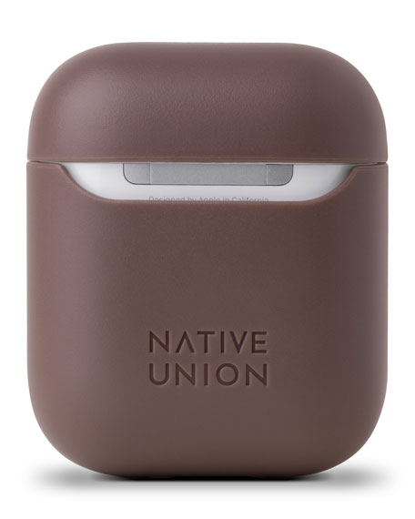Native Union Marquetry Leather Case For Airpods