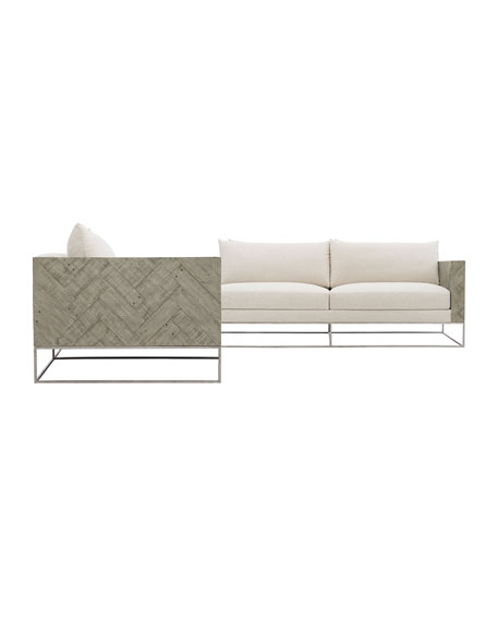 Image 3 of 3: Bernhardt Brooklyn 3 Piece Sectional