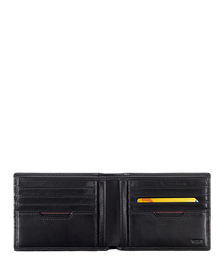 Image 2 of 4: TUMI Delta Global Double Billfold Wallet