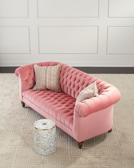 Old Hickory Tannery Cadence Tufted Sofa, 86""