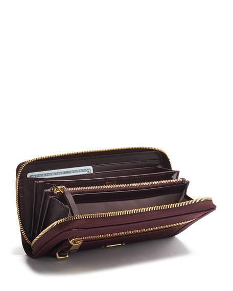 Tumi Voyageur Zip-Around Continental Wallet