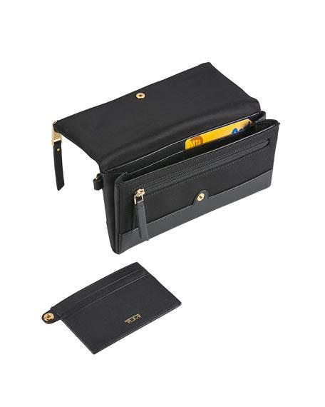 Tumi Voyageur Flap Continental Wallet