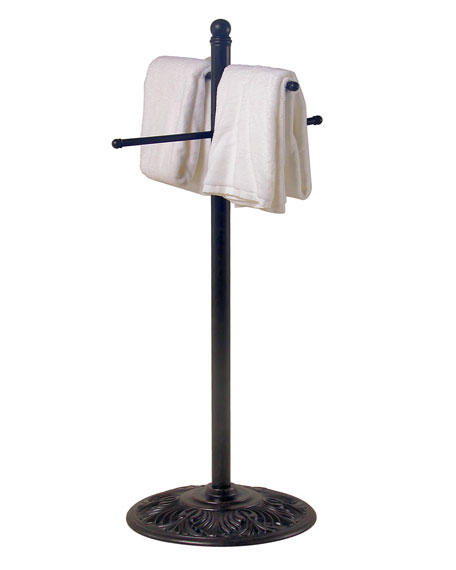 """Hanamint Outdoor Towel Rack (Arms are 55"""" Long)"""