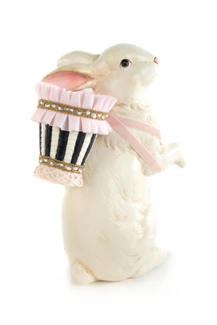 MacKenzie-Childs Macaron Bunny with Egg Backpack