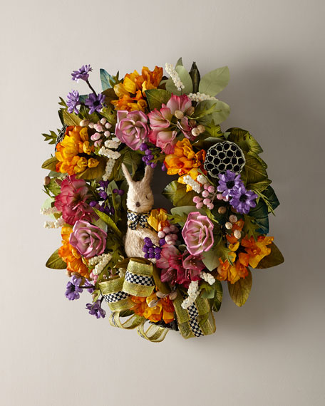 MacKenzie-Childs Farmhouse Garden Wreath