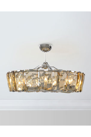 John-Richard Collection 10-Light Crystal Fandelier