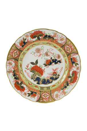 Royal Crown Derby Imari Imperial Garden Accent Plate