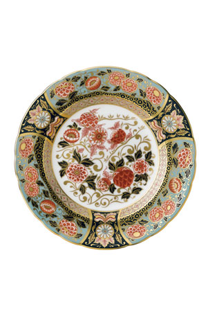 Royal Crown Derby Imari Riverside Park Accent Plate