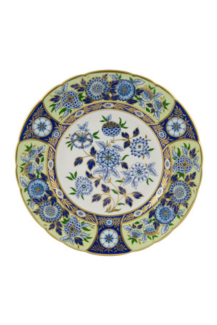 Royal Crown Derby Imari Midori Meadow Accent Plate