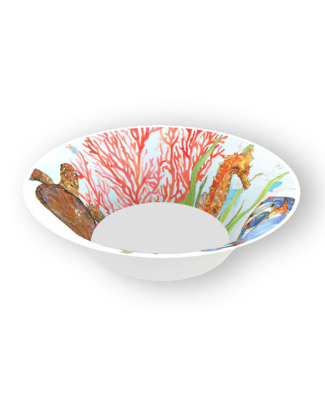 Bamboo Table Ocean Bamboo Cereal Bowls, Set of 4