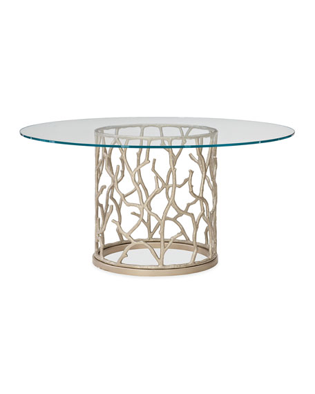 caracole Around the Reef Dining Table