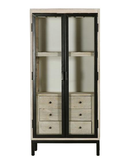 Isabelle Metal Bar Cabinet
