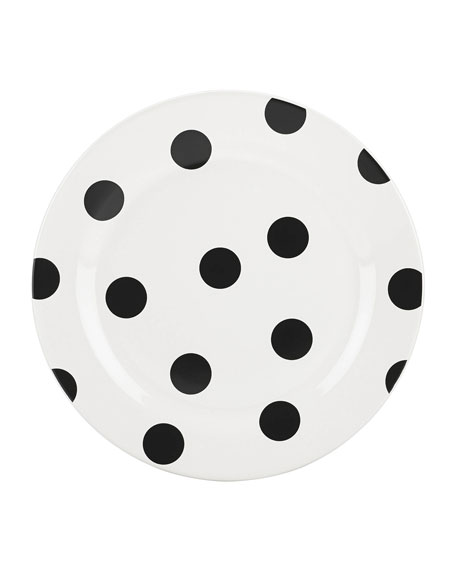 kate spade new york deco dot   accent plate