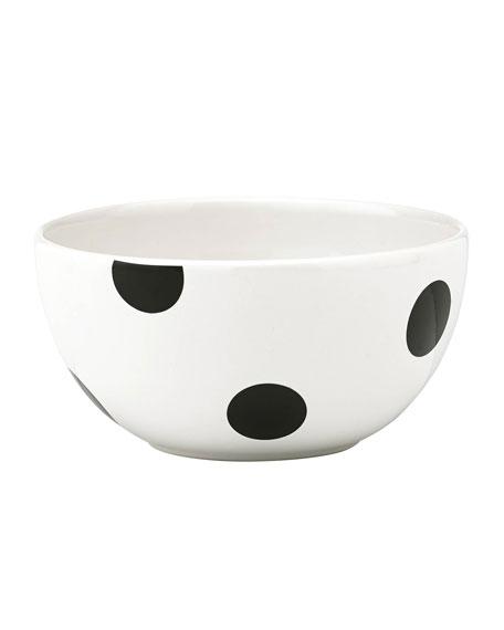 kate spade new york deco dot   fruit bowl