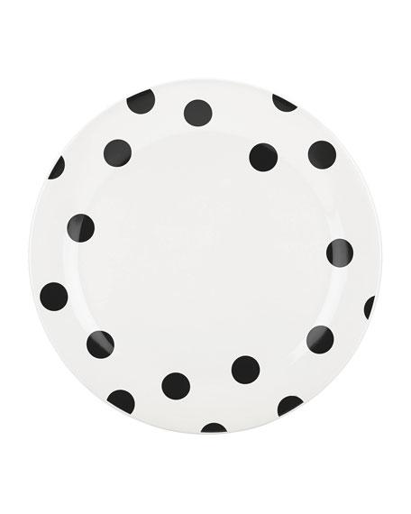 kate spade new york deco dot   dinner plate