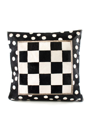 MacKenzie-Childs Mod Rocker Pillow