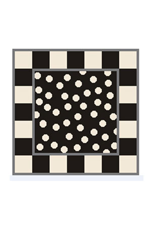 MacKenzie-Childs What's Up Dot Pillow