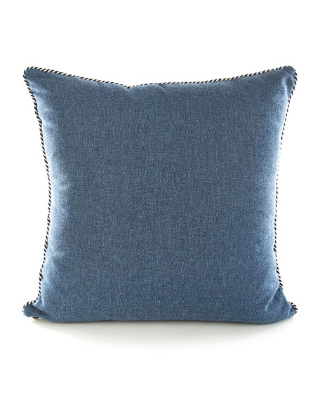 Image 2 of 2: MacKenzie-Childs Lobster Outdoor Accent Pillow