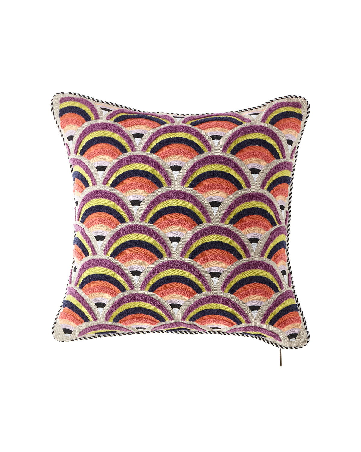 MacKenzie-Childs Sanibel Arches Outdoor Accent Pillow