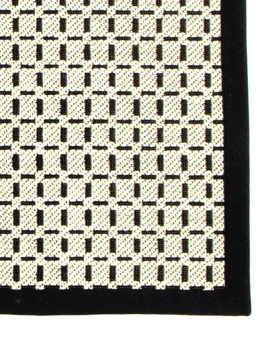 Bauhaus Check Rug, 3' x 5'