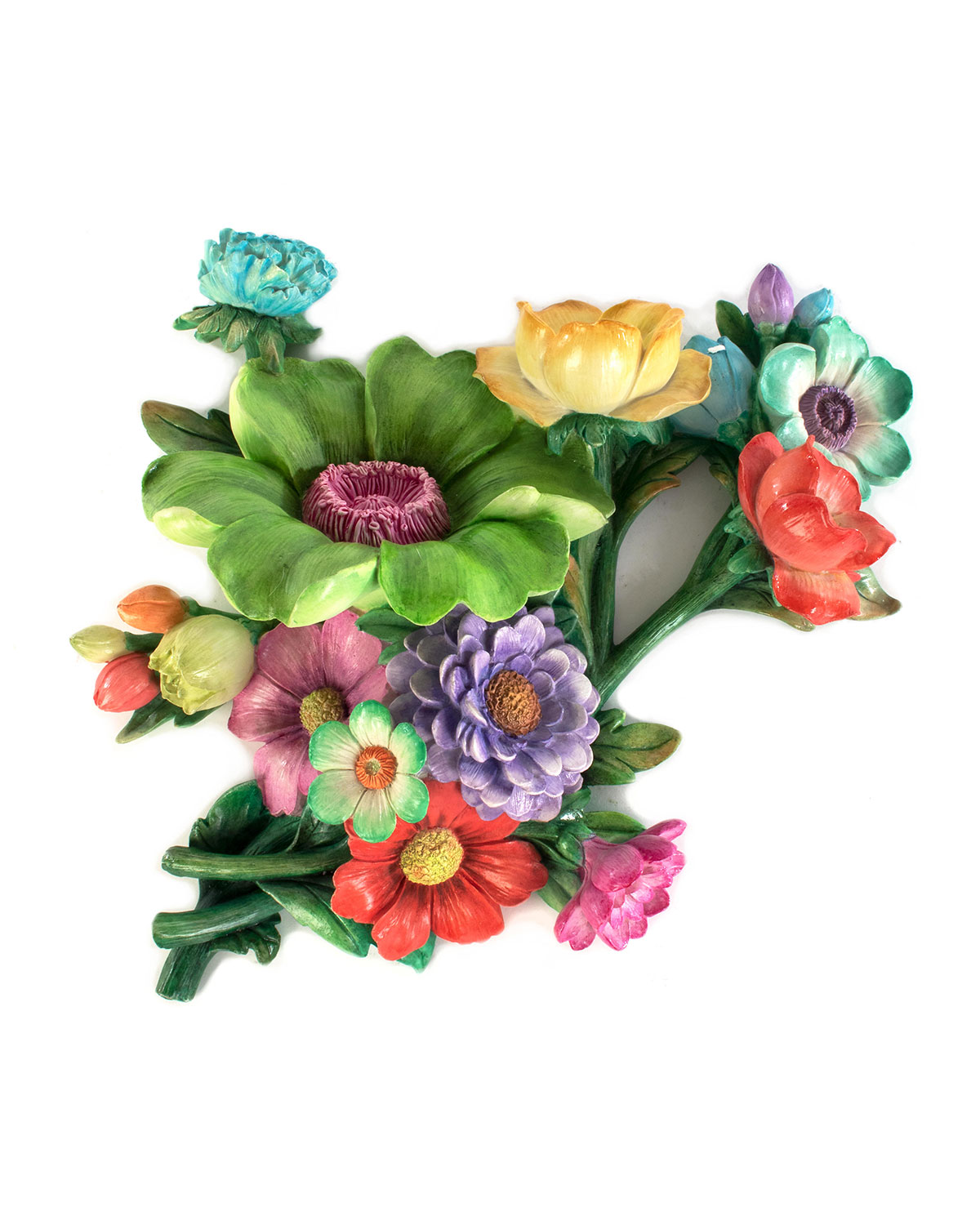 MacKenzie-Childs Flower Market Green Wall Art