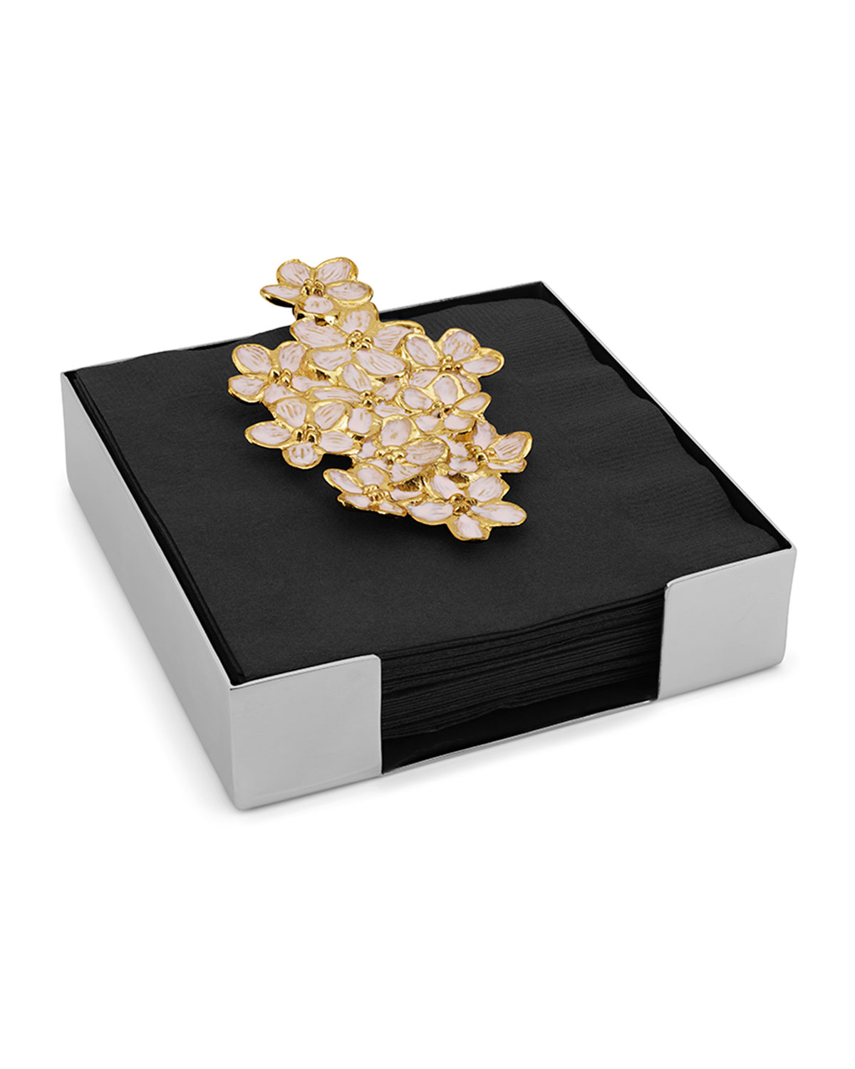 Michael Aram Cherry Blossom Cocktail Napkin Holder