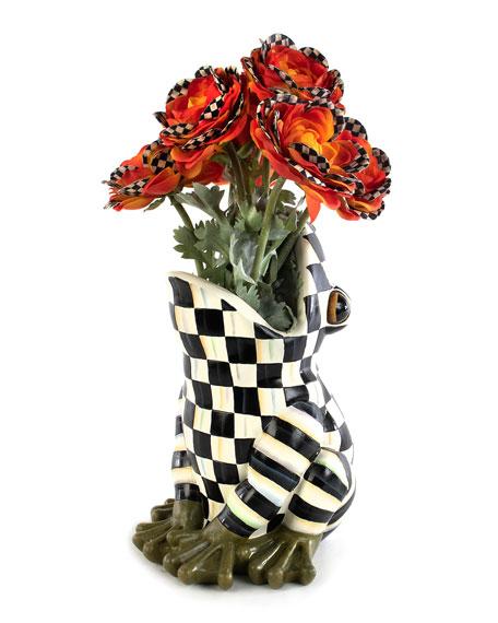 MacKenzie-Childs Fergal The Frog Vase
