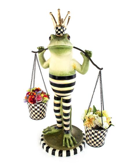 MacKenzie-Childs Fergal The Frog Double Plant Holder