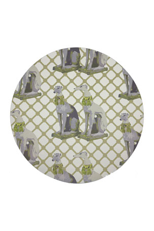 Nicolette Mayer Regal Greyhound Gold Pebble Placemats, Set of 4