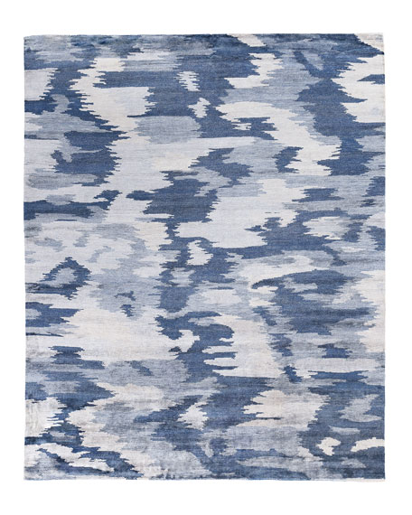 Exquisite Rugs Kendrick Hand-Knotted Rug, 10' x 14'