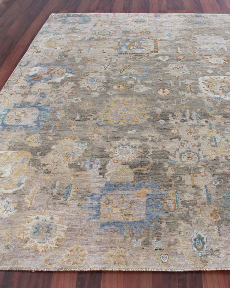 Exquisite Rugs Soto Hand-Knotted Rug, 6' x 9'
