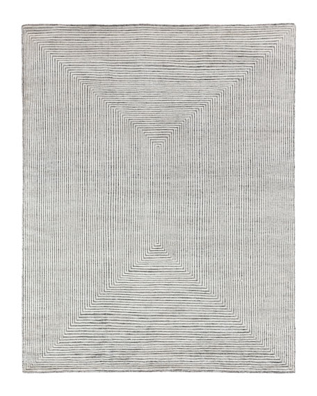 Exquisite Rugs Martinez Hand-Knotted Rug, 9' x 12'