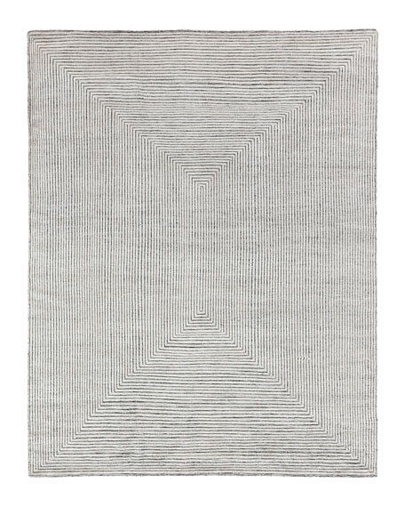 Exquisite Rugs Martinez Hand-Knotted Rug, 8' x 10'