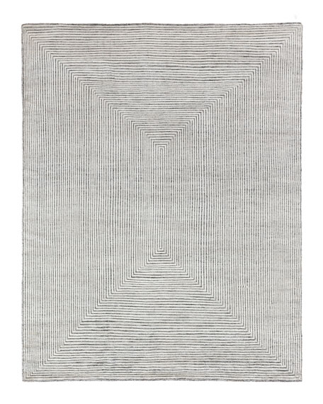 Exquisite Rugs Martinez Hand-Knotted Rug, 10' x 14'