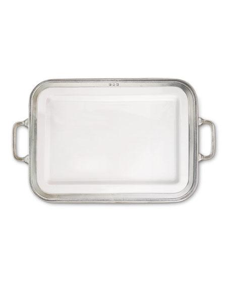Match Luisa Rectangular Large Platter with Handles