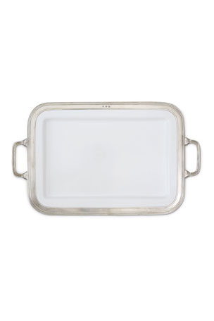Match Gianna Rectangular Large Platter with Handles