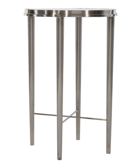 Bernhardt Allure Metal Chairside Table