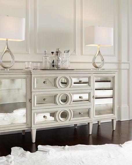Bernhardt Allure Mirrored Front Buffet