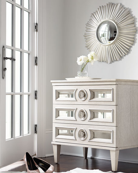 Image 1 of 3: Bernhardt Allure Round Mirror