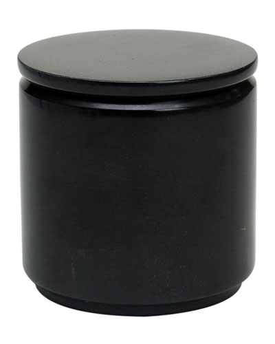 Eris Collection Jet Black Canister