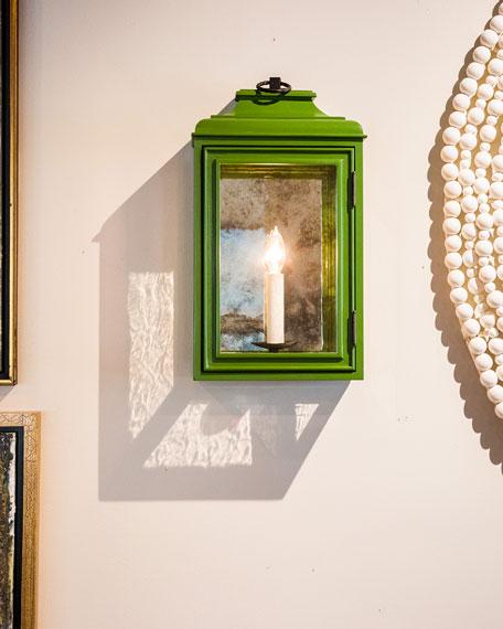 KingsHaven Luytens Low Profile Large Lantern Sconce