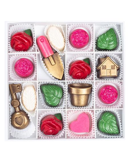 Maggie Louise Rose Garden Chocolate Gift Box