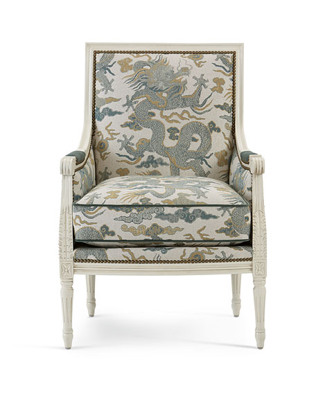 Image 2 of 3: Massoud Elysian Accent Chair