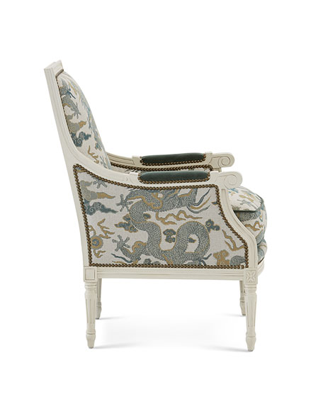 Image 3 of 3: Massoud Elysian Accent Chair