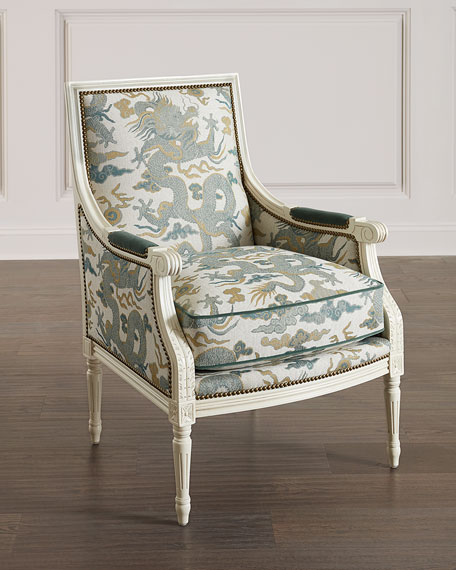 Image 1 of 3: Massoud Elysian Accent Chair
