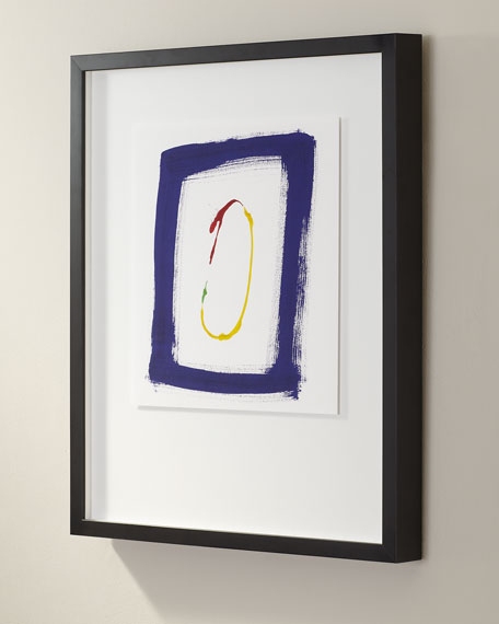 """Primary No. B"" Giclee Art"