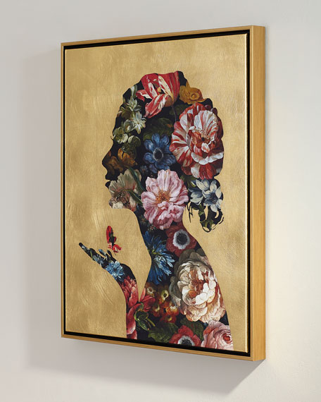 """Floral Reflection II"" Giclee Wall Art"
