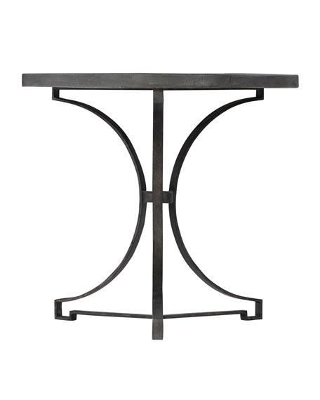 Bernhardt Canyon Ridge Round Metal Side Table