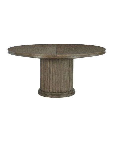 Bernhardt Canyon Ridge Round Pedestal Dining Table