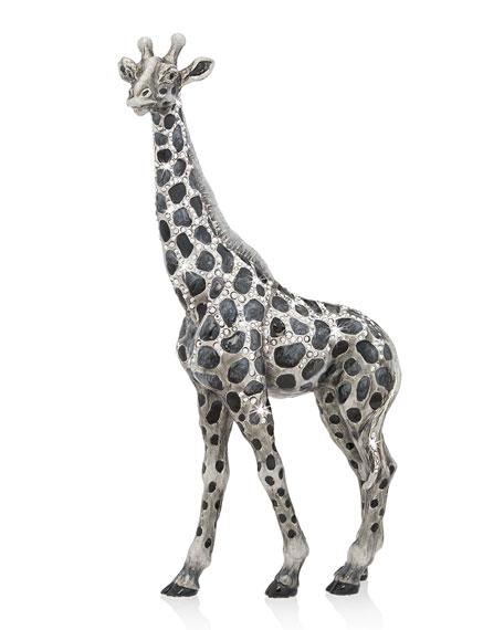 Jay Strongwater Edgar Giraffe Figurine